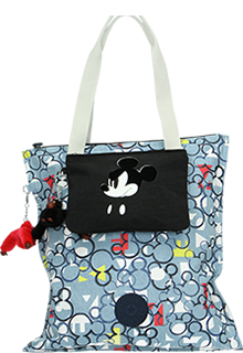 Kipling Disney/'s 90 Years of Mickey Mouse Hip  Hurray Tote Bag Three Cheers
